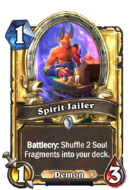 Golden Spirit Jailer