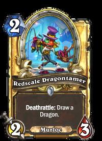 Golden Redscale Dragontamer