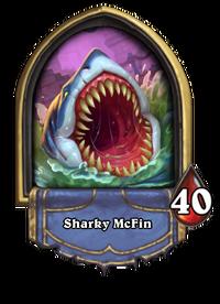 Golden Sharky McFin