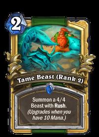 Golden Tame Beast (Rank 2)