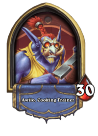 Golden Awilo, Cooking Trainer