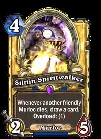 Golden Siltfin Spiritwalker