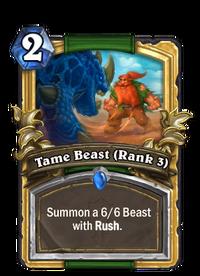 Golden Tame Beast (Rank 3)