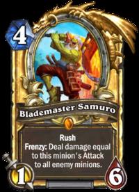 Golden Blademaster Samuro