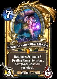 Golden Death Speaker Blackthorn