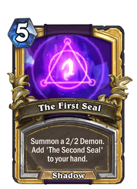 Golden The First Seal