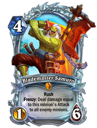 Diamond Blademaster Samuro