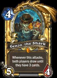 Golden Genzo, the Shark