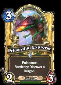 Golden Primordial Explorer