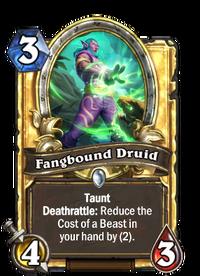 Golden Fangbound Druid