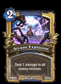 Golden Arcane Explosion