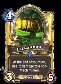 Golden Fel Cannon
