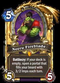 Golden Neeru Fireblade