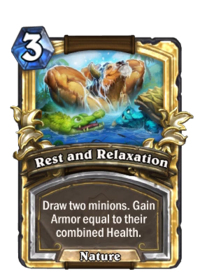 Golden Rest and Relaxation