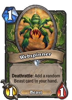 Webspinner Hearthstone Heroes Of Warcraft Wiki