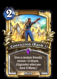 Golden Conviction (Rank 1)