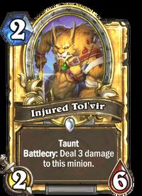 Golden Injured Tol'vir
