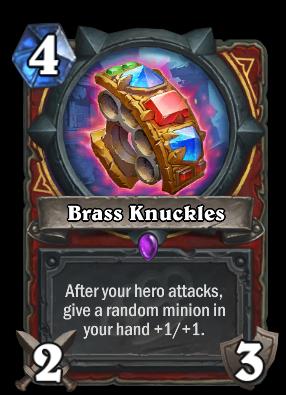 Brass Knuckles Hearthstone Heroes Of Warcraft Wiki