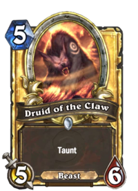 Golden Druid of the Claw