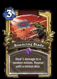 Golden Bouncing Blade