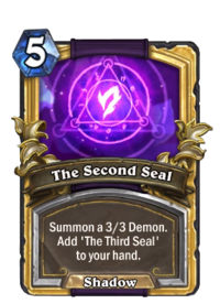 Golden The Second Seal