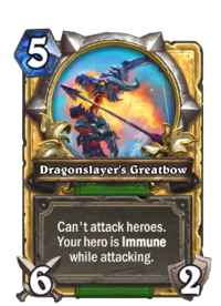 Dragonslayer's Greatbow(184826) Gold.png