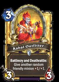 Golden Kabal Outfitter