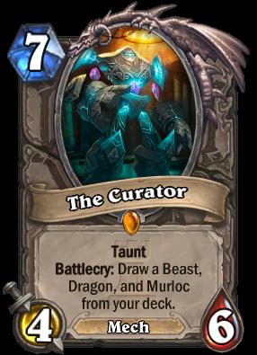 The Curator Hearthstone Wiki