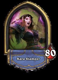 Golden Kara Stamper