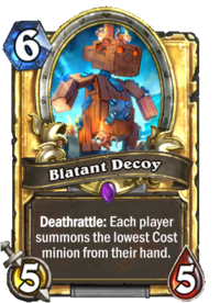 Golden Blatant Decoy