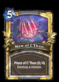 Golden Maw of C'Thun