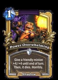Golden Power Overwhelming