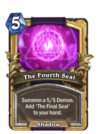 Golden The Fourth Seal