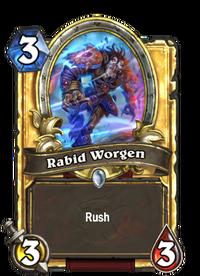 Golden Rabid Worgen