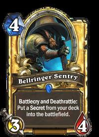 Golden Bellringer Sentry