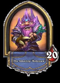 """The Amazing """"Bonepaw"""""""