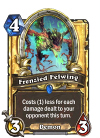 Frenzied Felwing(184981) Gold.png