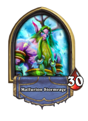 Malfurion Stormrage Hearthstone Wiki Communing with nature and cenarius through the emerald dream, malfurion protects the wilds from demonic influences. malfurion stormrage hearthstone wiki
