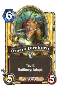 Ornery Direhorn(55530) Gold.png