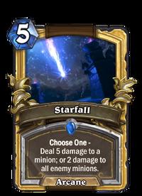 Golden Starfall