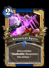 Golden Ancestral Spirit
