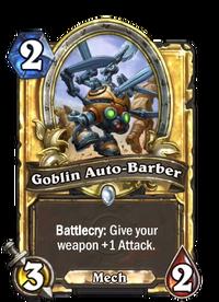 Golden Goblin Auto-Barber