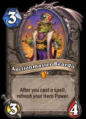 Auctionmaster Beardo Hearthstone Heroes Of Warcraft Wiki