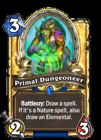 Golden Primal Dungeoneer