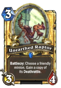 Unearthed Raptor(27220) Gold.png
