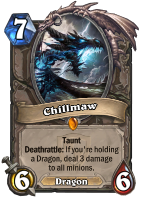 Chillmaw - Hearthstone: Heroes of Warcraft Wiki