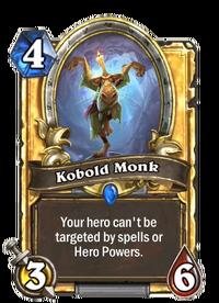 Golden Kobold Monk