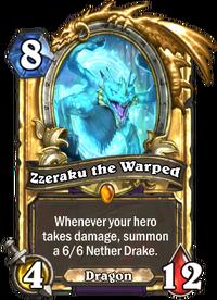 Golden Zzeraku the Warped