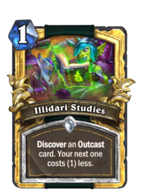 Golden Illidari Studies