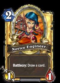 Golden Novice Engineer